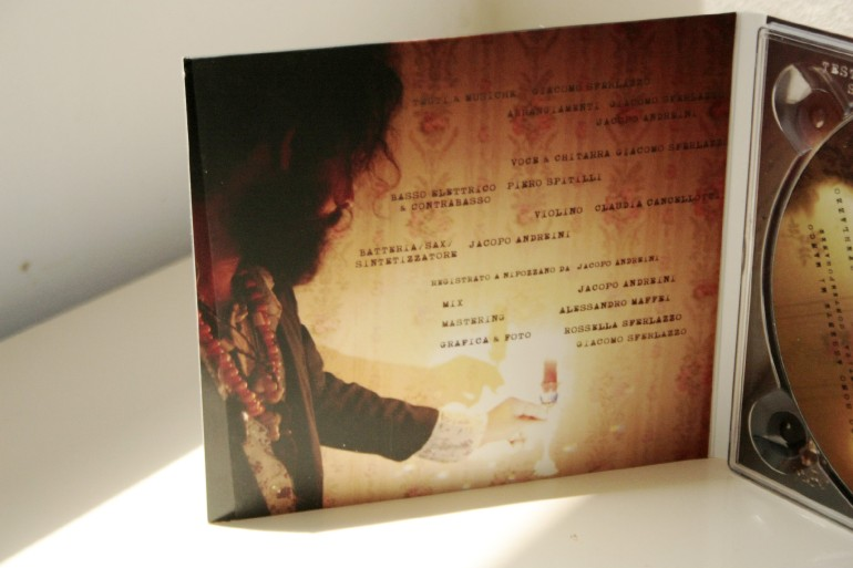 my new work : photography  + cd cover design